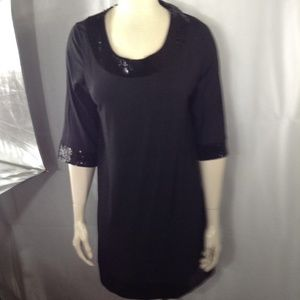 KENSIE Tunic/Dress With Sequins, XL